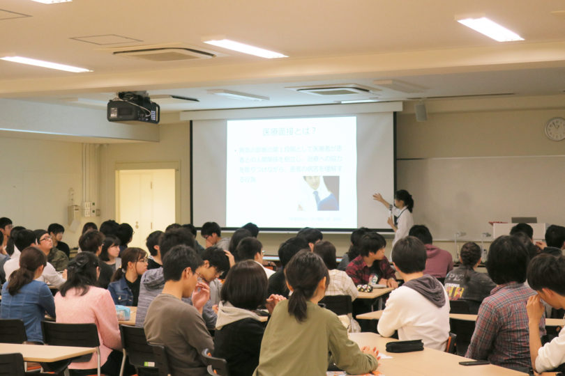 H30年度 医学科1年生対象:プロフェッショナリズムⅠ講義(3日目) 開催