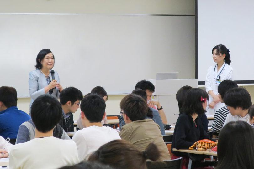 H30年度 医学科1年生対象:プロフェッショナリズムⅠ講義(4日目) 開催