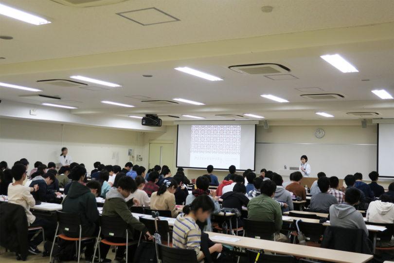 H31年度 医学科1年生対象:プロフェッショナリズムⅠ講義(1日目) 開催