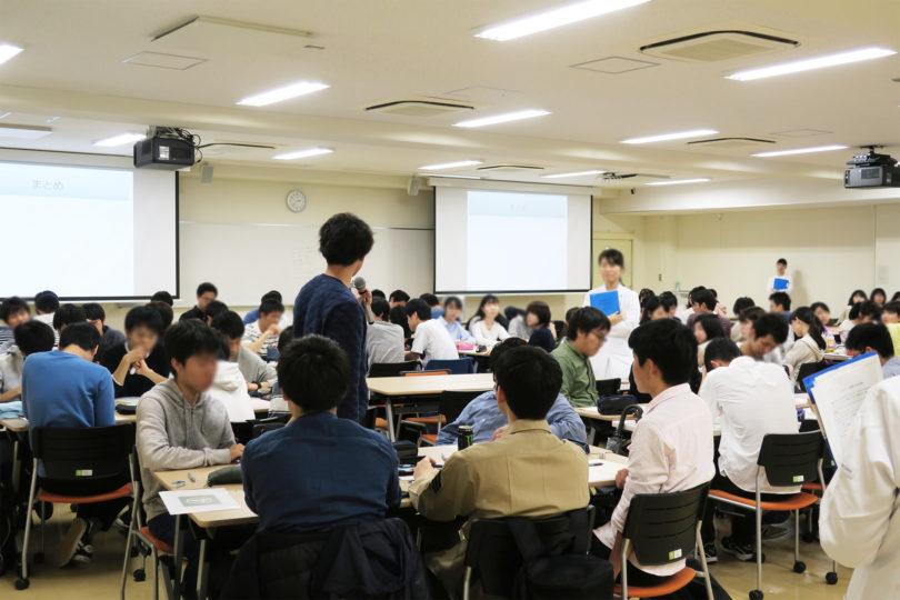 H31年度 医学科1年生対象:プロフェッショナリズムⅠ講義(3日目) 開催