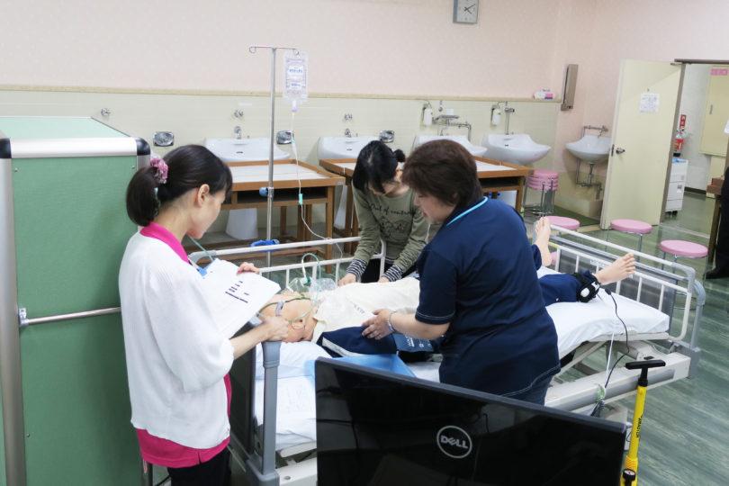 (看護師対象)シミュレーショントレーニング in 新見 開催