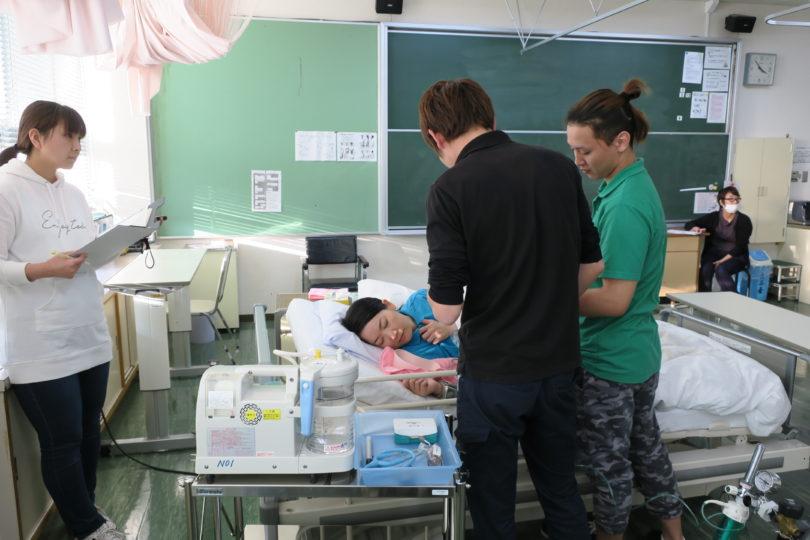 介護施設職員対象:シミュレーショントレーニング in 新見 開催