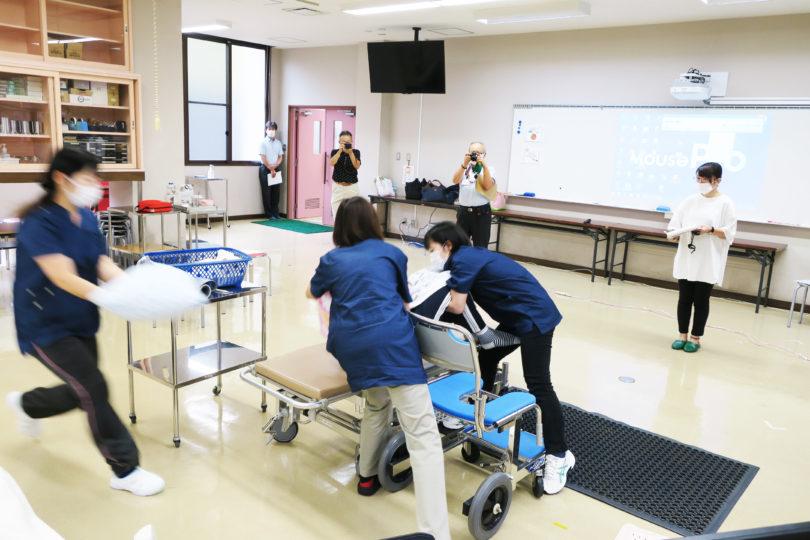 (介護施設職員対象)シミュレーショントレーニング in 新見 開催